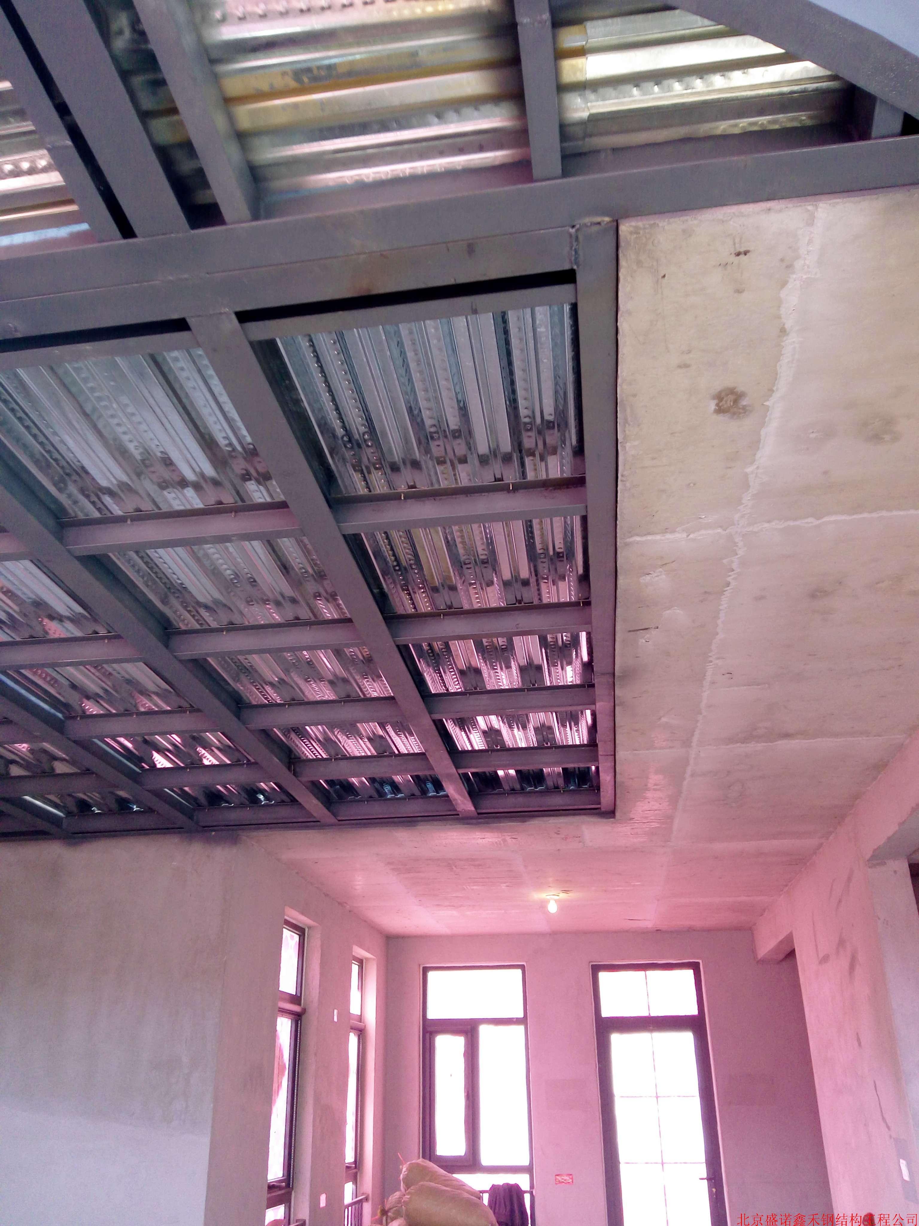 北京室内钢结构夹层搭建做阁楼二层专业顶层阁楼